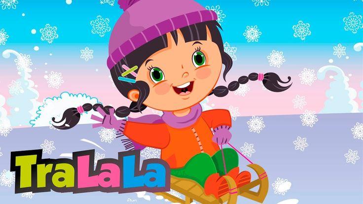 Cu săniuța - Cântece de iarnă pentru copii | TraLaLa