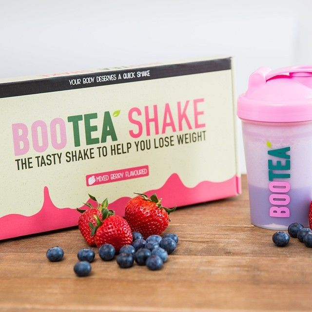 Bootea Shake, perfect for weight loss