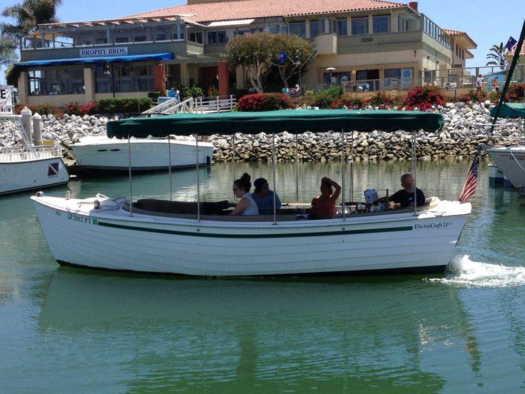 Electric boats ventura boat rentals electric boat boat