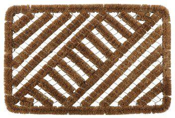 Dørmåtte KUGLEASK 40x60 kokosfibre/stål | JYSK