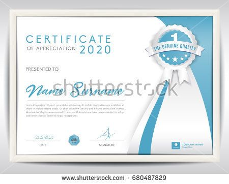 52 best certificate template design images on pinterest certificate template vector illustration diploma layout in a4 size business flyer design advertisement yelopaper Image collections