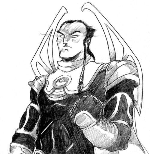 EXODUS / sketch portrait