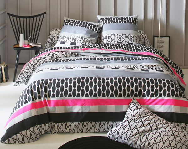 114 best images about linge de lit on pinterest urban outfitters bed linens and comforter. Black Bedroom Furniture Sets. Home Design Ideas