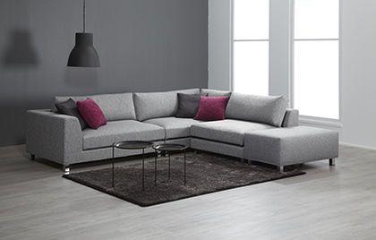 Muunneltava Trend modulisohva  / Convertable Trend sofa www.finsoffat.fi