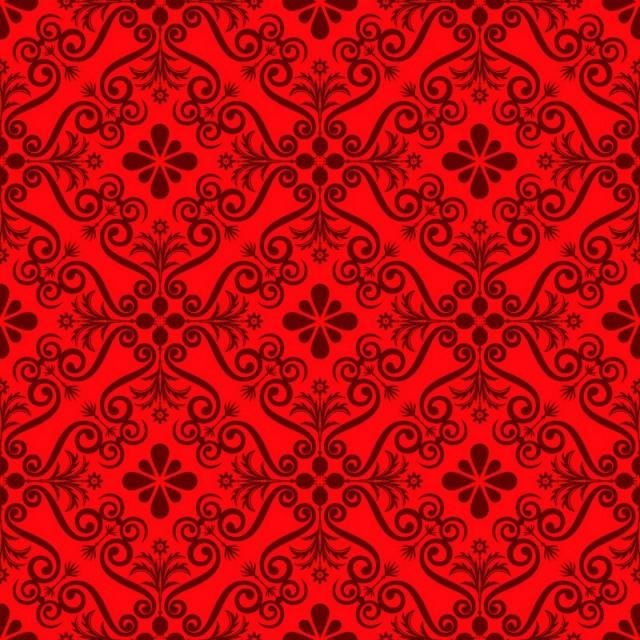 Seamless Luxury Ornamental Background Red Damask Seamless Floral Pattern Abstract Antique Background Png And Vector With Transparent Background For Free Down Red Damask Floral Pattern Damask
