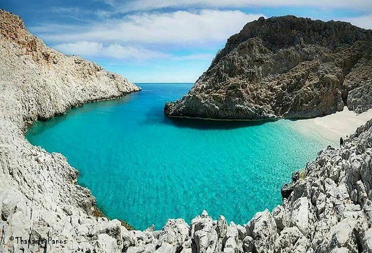Seiten limenes beach, Crete