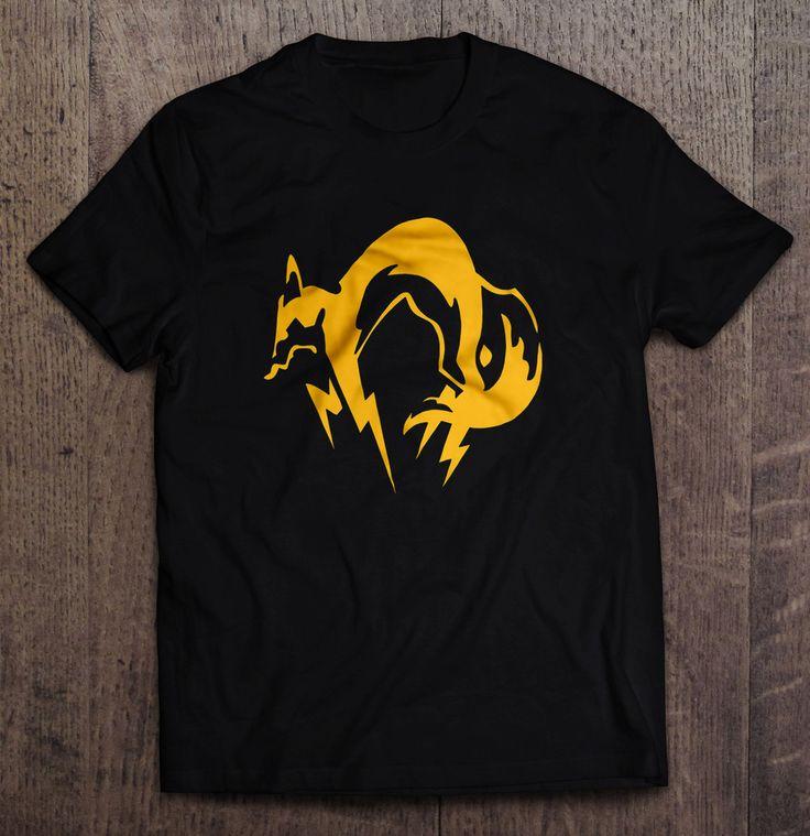 Metal Gear Solid - Foxhound Logo T Shirt