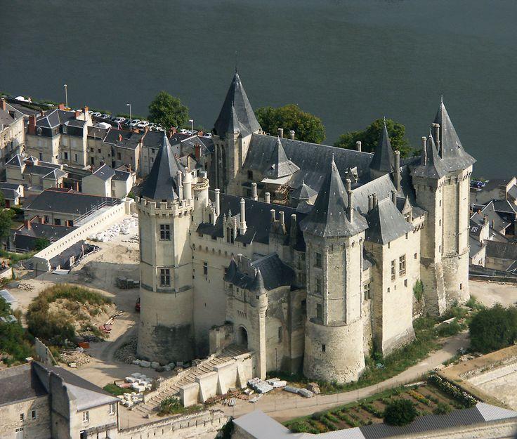 Photo aérienne de Saumur - Maine-et-Loire (49)
