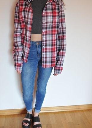 Kup mój przedmiot na #vintedpl http://www.vinted.pl/damska-odziez/koszule/9963391-koszula-w-krate