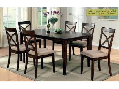 Mobilier de cuisine table et 6 chaises
