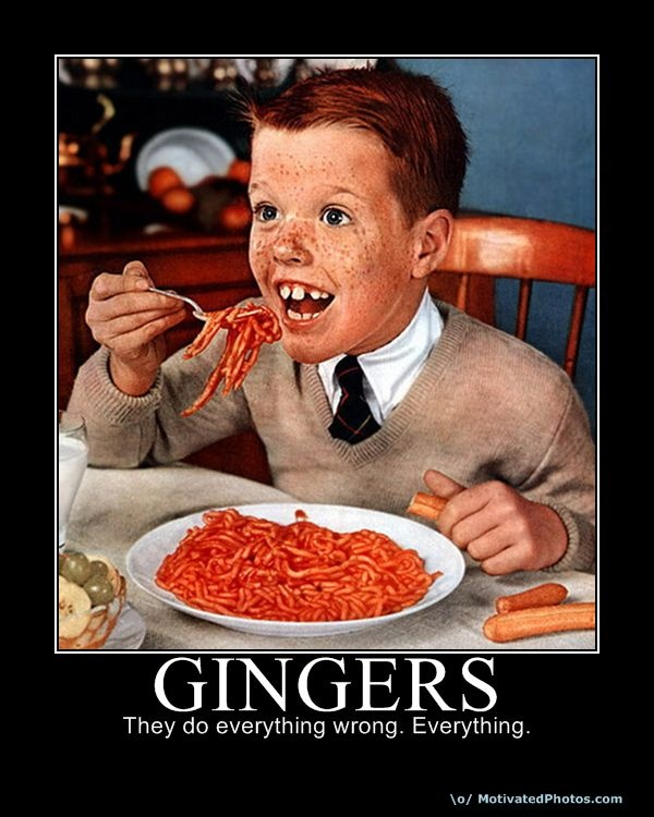 Funny Redhead Gingers Brings Out My Pearly Whites Pinterest