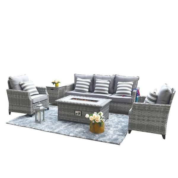 Pin On Interior Outdoor conversation sets with fire pit