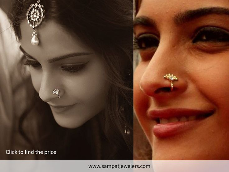The minimalist guide to finding the right nose rings, nose pins, nose studs, nath, nathni, nose hoops handmade with natural diamonds and gold.