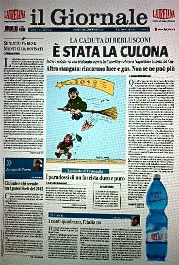 """I grandi titoli de """"Il Giornale"""""""