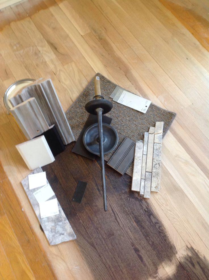 Floor Stain Dark Walnut Ebony 50 50 Minwax Lamloise