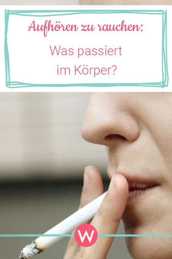 Aufhören zu rauchen: Was passiert im Körper? – WUNDERWEIB – Das Magazin