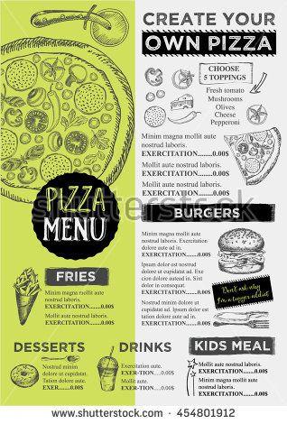 Best Food Menu Design Images On
