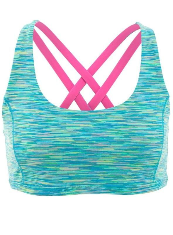 Choose your colour to peek out beneath your tank | Reversible Vitality Sport Bra