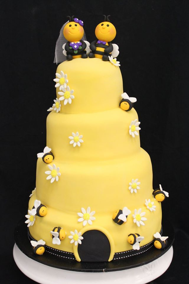 A sweet little beehive wedding