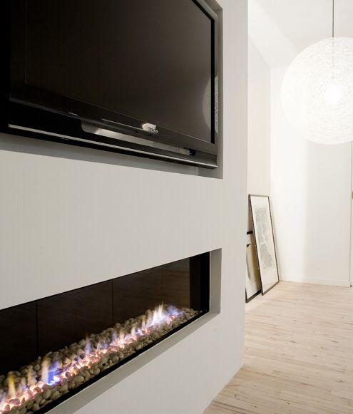 meer dan 1000 idee n over linear fireplace op pinterest open haarden gashaarden en moderne. Black Bedroom Furniture Sets. Home Design Ideas