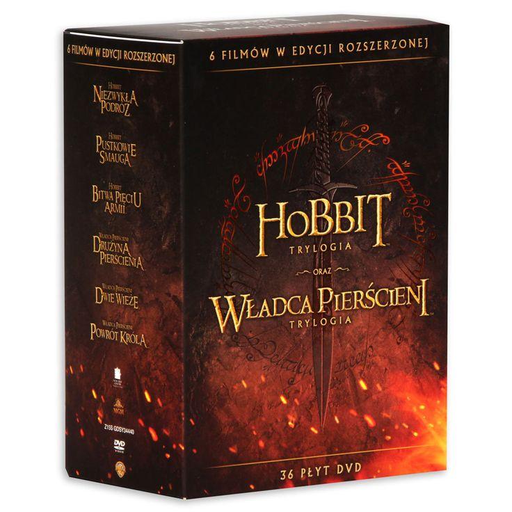 Kolekcja: Hobbit / Władca Pierścieni -   Jackson Peter , tylko w empik.com: 410,99 zł. Przeczytaj recenzję Kolekcja: Hobbit / Władca Pierścieni. Zamów dostawę do dowolnego salonu i zapłać przy odbiorze!