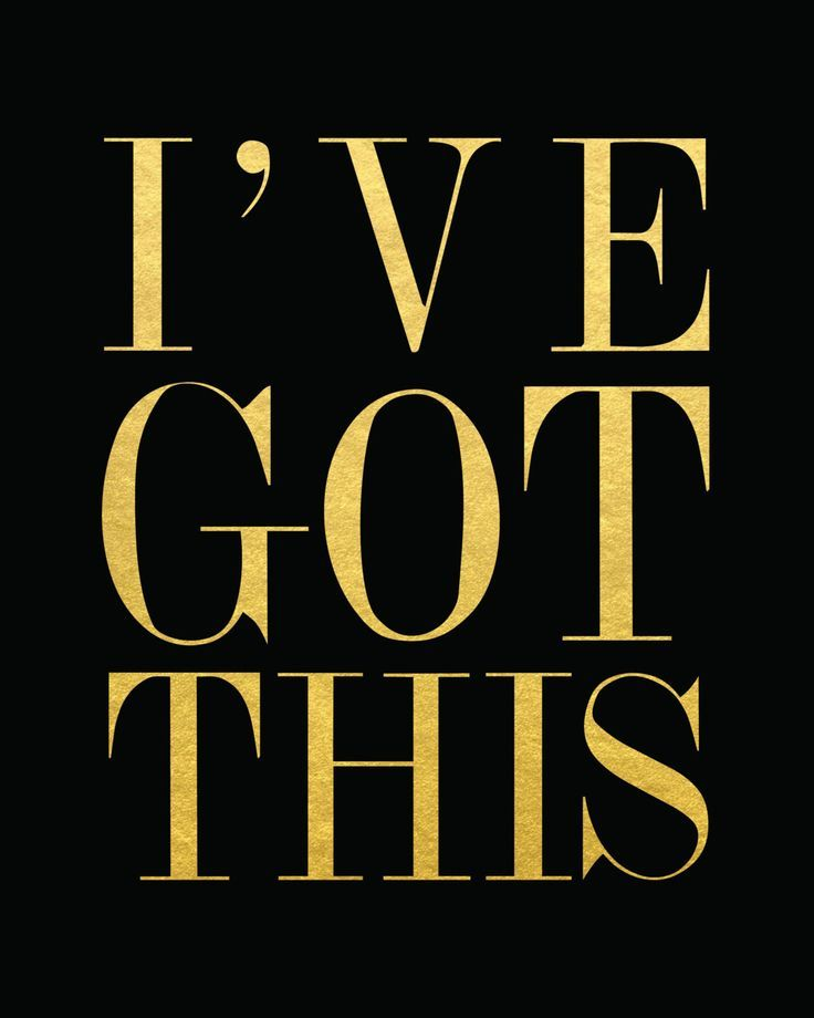 I've got this. Something to ALWAYS keep in mind! Crafted on white or black cardstock with shiny, reflective gold foil. Click here to purchase the gold frame.