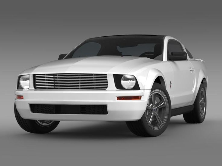 Ford Mustang WIP 2009 3D Model- Let me represent you high poly 3d model of Ford Mustang WIP 2009 (The Ford Mustang is an automobile manufactured by the Ford Motor Company. The Ford Mustang is one of the ten cars have changed the world by Forbes magazine as the most popular Muscle car.) with high detail.    The model is created in real size. This model is created in Autodesc Maya 2012, visualization (rendering) - Mental Ray. If necessary, the product is easy to change or modify.  Autodesc…