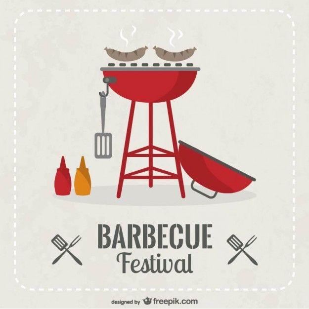 Barbecue-festival-invitation-vector - Freepik-Cafe - Pin-16
