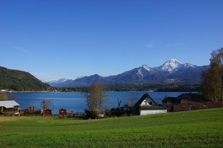 Blick auf den Faaker See Kärnten