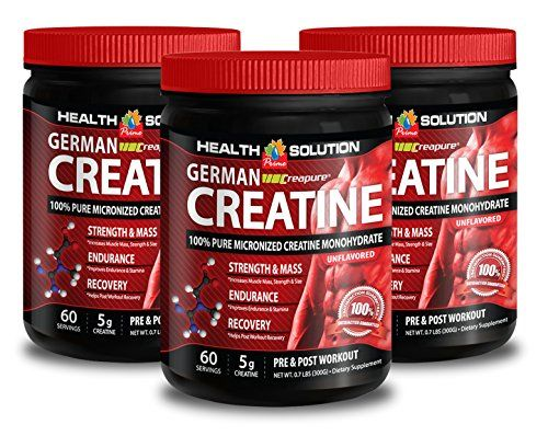 Creatine monohydrate liquid - CREAPURE MONOHYDRATE GERMAN CREATINE 300 GRAMS 60 SERVINGS - improve muscles (3 Bottles) * Want to know more, click on the image.