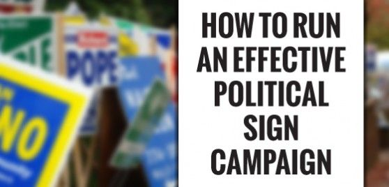 Your guide to election sign laws in all 50 states. Learn about the benefits of political signage and how to design and distribute cost-effective yard signs.