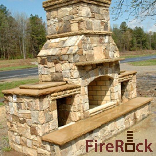 FireRock Outdoor Fireplace Kit | Fire Rock