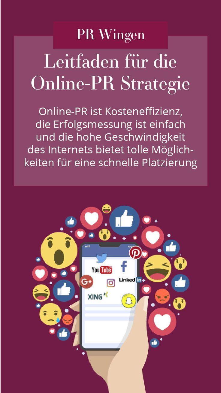 Online Pr Die Richtige Strategie Finden Lena Wingen Public Relations Blog Erstellen Marketing