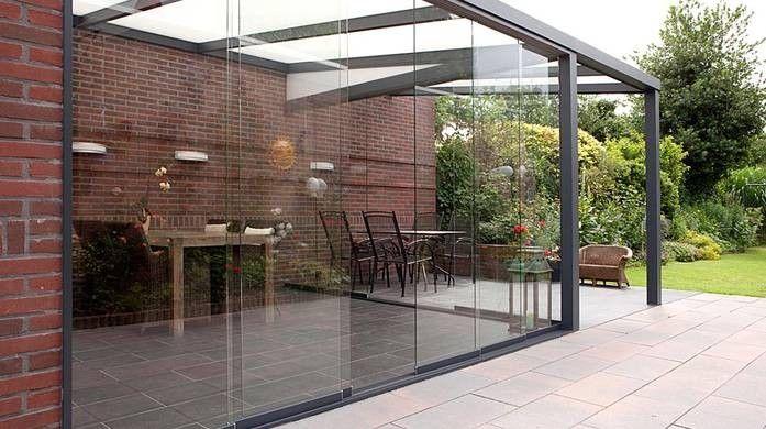 Alu Terrassenüberdachung aus Aluminium-Profilen   Wohnen im Garten