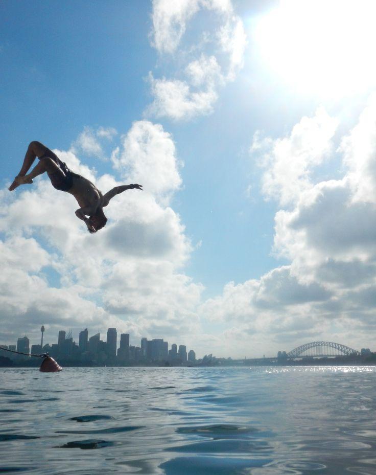 hello summer in sydney, australia! #jump