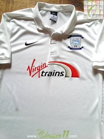 Relive Preston North End's 2014/2015 season with this original Nike home football shirt.