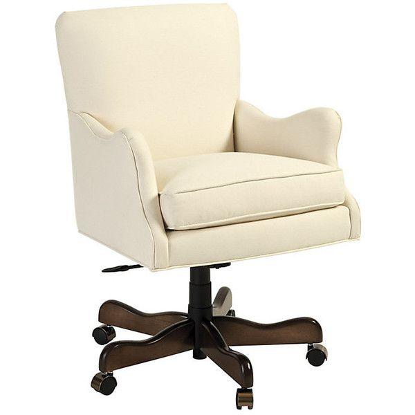 Ballard Designs Rhodes Desk Chair 699 Liked On Polyvore