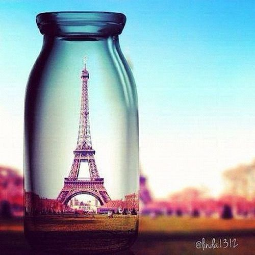 Paris, France. Eiffel Tower is a definite place i'd love to see, feel and gaze lovingly at!