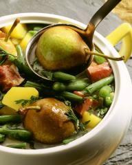 Bohnen mit Speck Rezepte: Birnen, Bohnen und Speck