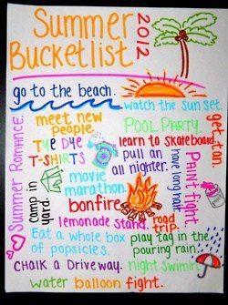 Cute idea for my BFF Bucket List Book. I like the layout.