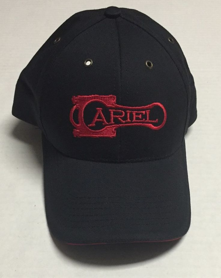 Ariel Corporation Strapback Hat World Standard Compressors Made In The USA #BaseballCap