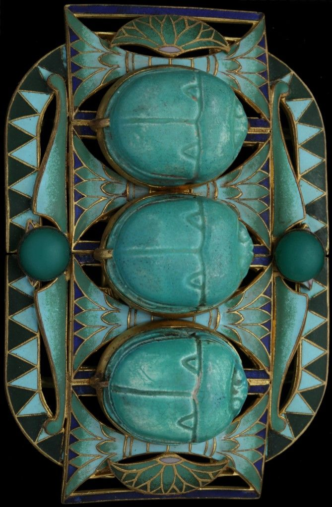 Top 446 best art deco Egyptian revival jewelry images on Pinterest  VS08