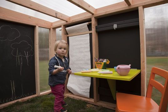modern play house | the playhouse is manufactured using all fsc certified woods harvested