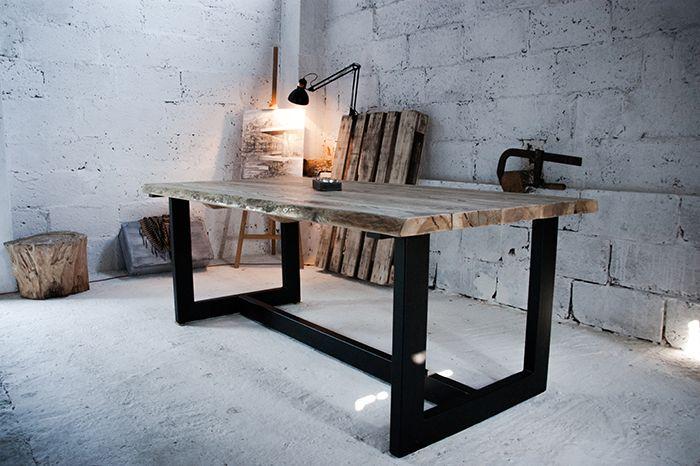 Stół LoftTable w Blaise Handmade Furniture na DaWanda.com