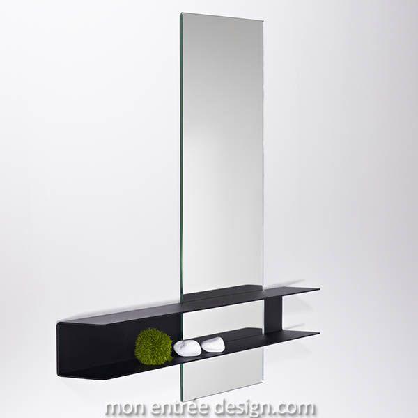 Slide Double - Miroir Etagère Deknudt, Tous nos miroirs design 700€