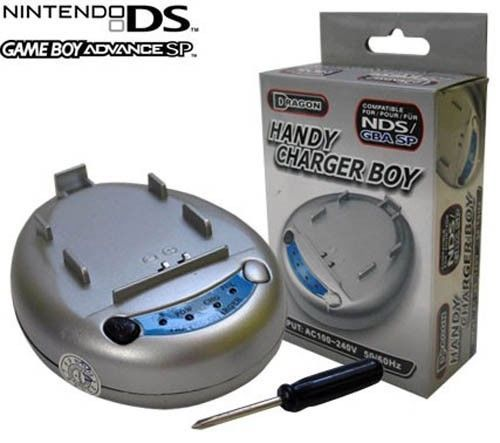 Nintendo DS/ GBA (GameBoy Advance) SP Handy Charger Boy - Dragon