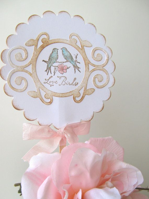 Creating a unique cake topper leaves a lasting impression  www.celebrationsbykat.com