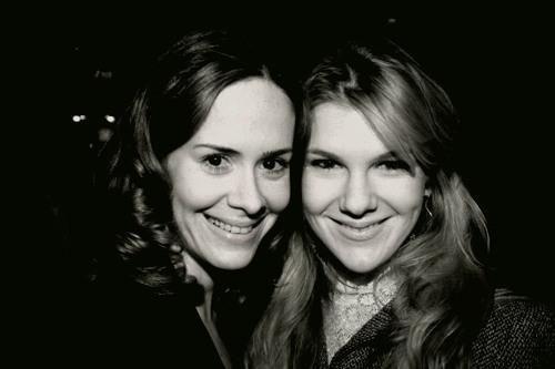 Sarah Paulson and lily rabe