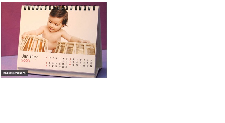 The cutest calendars ever! Perfect for any desk - they take very little space and are also light on your pocket !
