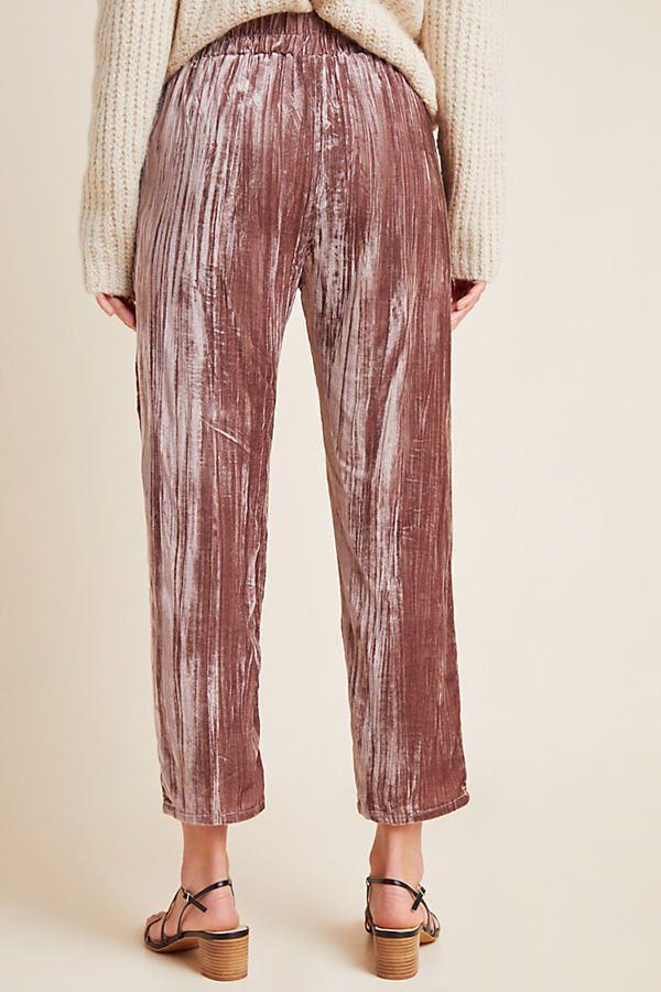 Ladies Women Trouser Elasticated Printed Tapered Harem High waist Regular Pants
